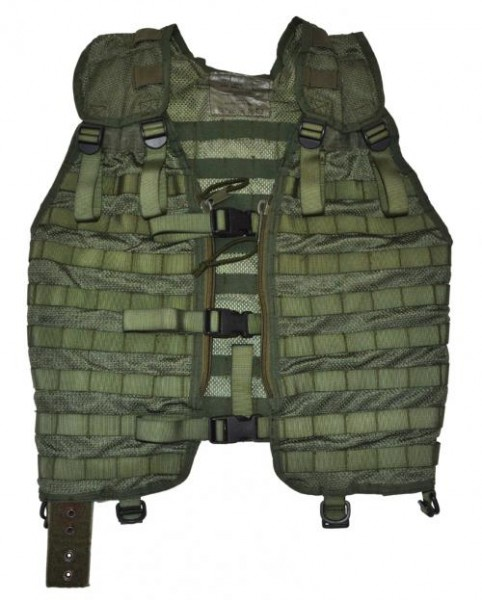 Tactical-Weste Molle (NL) oliv gebraucht